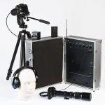 Ejemplo de microfono laser